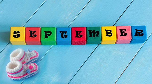 When to get pregnant if you want a September baby?