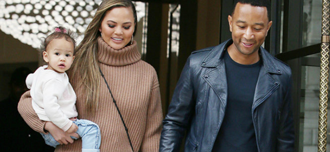 Chrissy Teigen and John Legend pregnant with baby#2