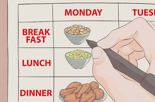 Plan your meal before your baby comes out