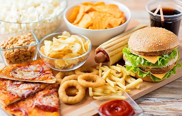 fatty junk foods may affect fertility