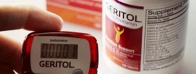 Geritol brand of prenatals