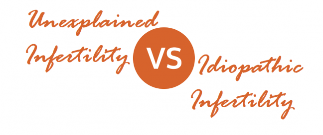 Unexplained infertility vs Idiopathic Infertility