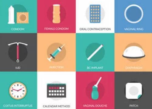 different methods of birth control
