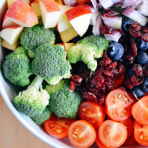 fruits and vegetables to help with cycle and fertility