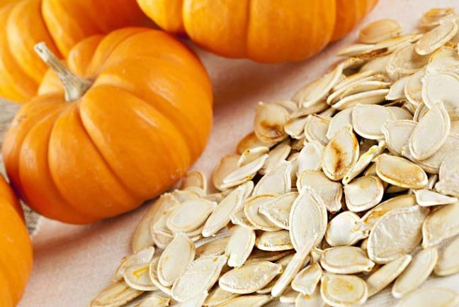 pumpkin seeds for fertility