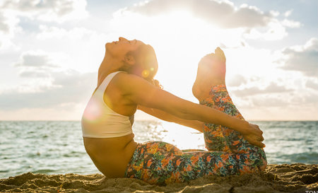 manage stress by taking up yoga or meditation classes