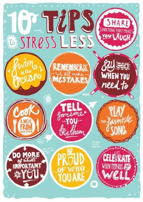 ways to reduce stress