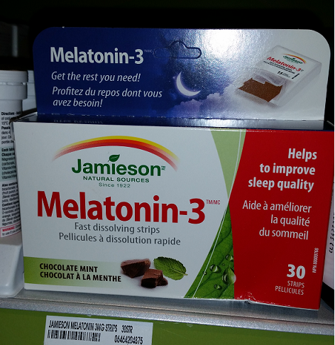 Melatonin is a natural sleep aid