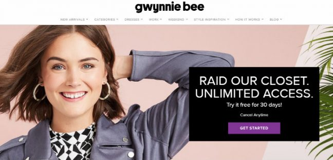 Gwynnie Bee - Top Subscription Boxes
