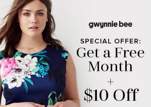 Gwynnie Bee free trial offers