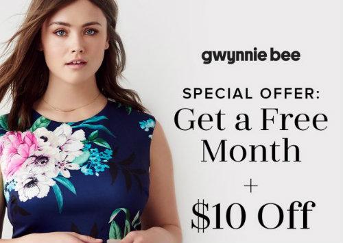 Gwynnie Bee free trial offers