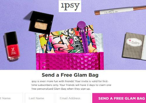 Ipsy free trial