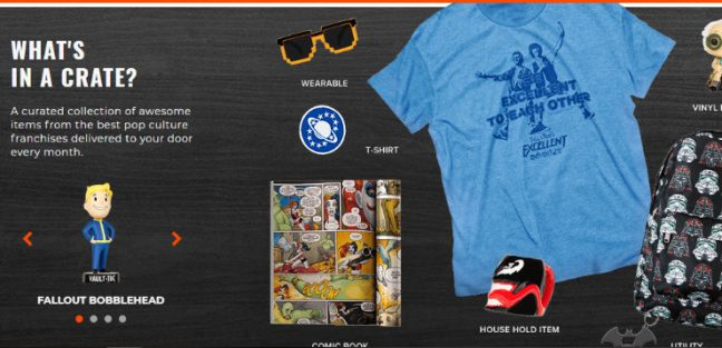 Loot Crate- Top Subscription Boxes