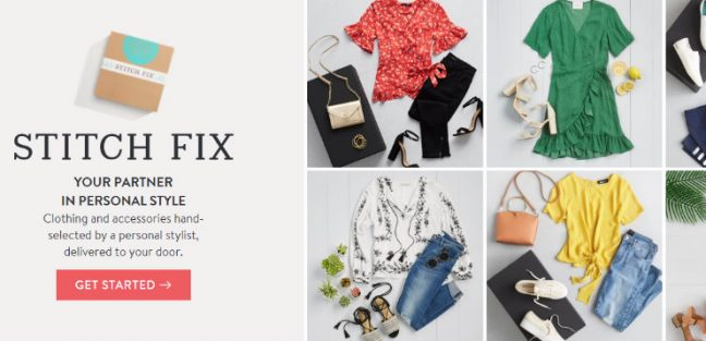 Stitch Fix - Top Subscription Boxes