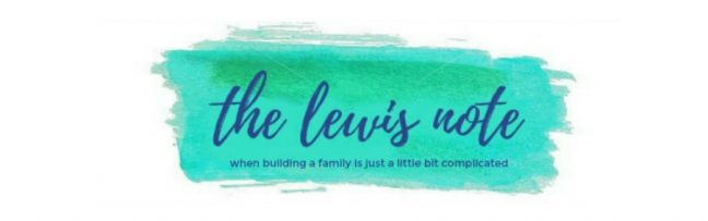 The Lewis Note - Top Infertility Blogs