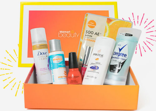 Walmart Beauty Box free trial offers