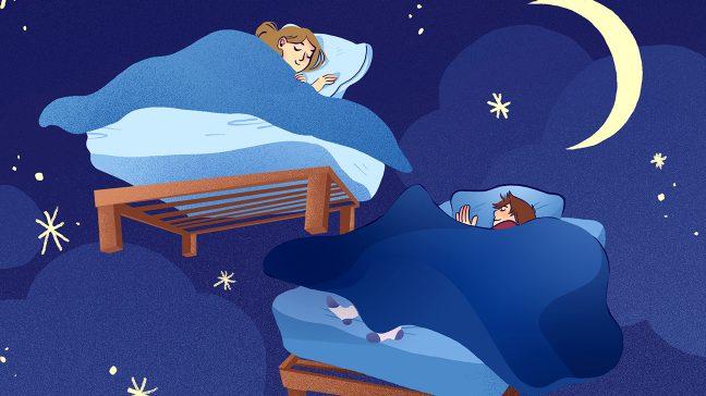 sleep affects your fertility