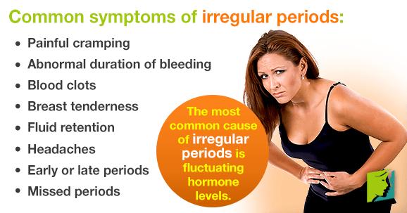 causes of irregular periods
