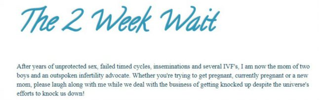 two week wait - Top Infertility Blogs