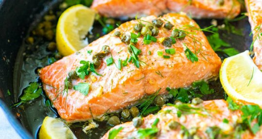 Salmon - Healthy Foods to Eat When Pregnant