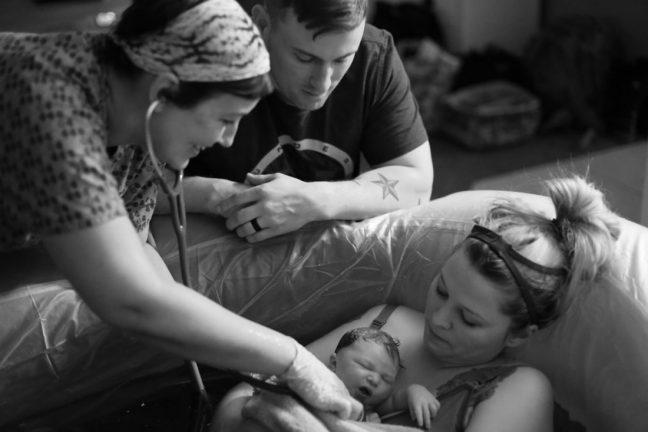 Homebirth with midwife vs. ob/gyn