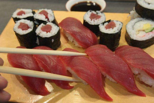 Sushi - Foods to avoid during pregnancy