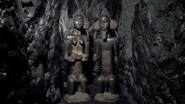 rubbing fertility statues - fertility old wives tales