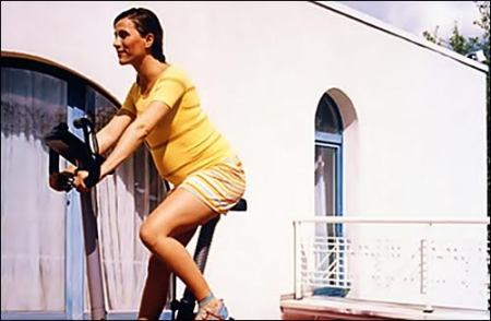 Stationary cycling for pregnant women