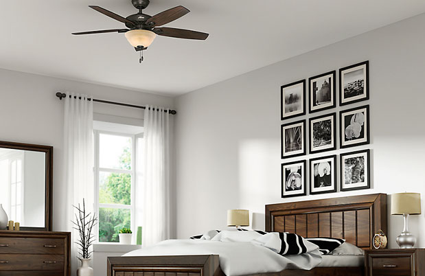Remove the ceiling fan