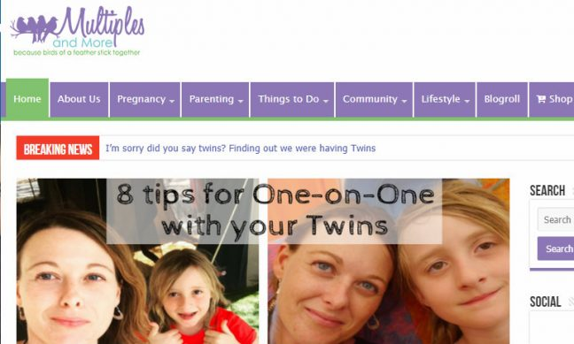 Top Twin BLogs - Multiples and more